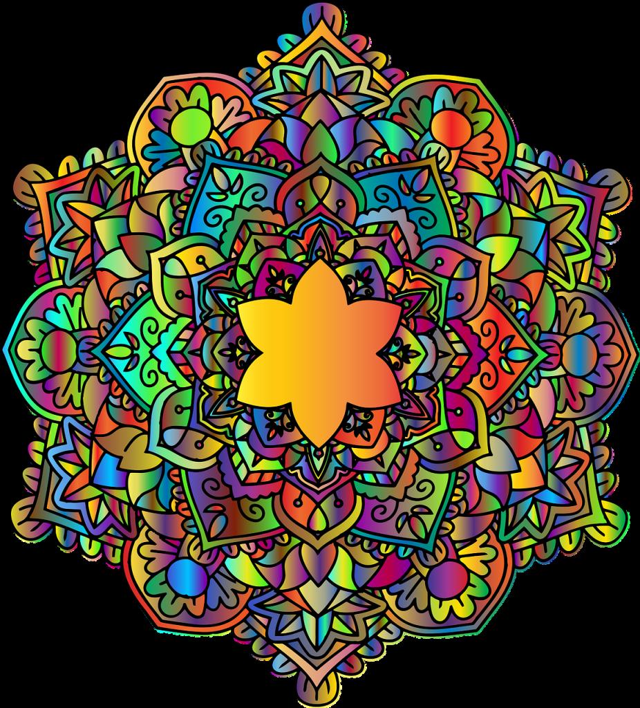 Das Mandala - eine Formel des menschlichen Lebens.